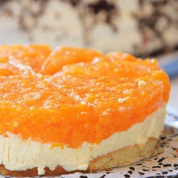 Mandarin Orange Cheesecake Recipe from Grandmother's Kitchen