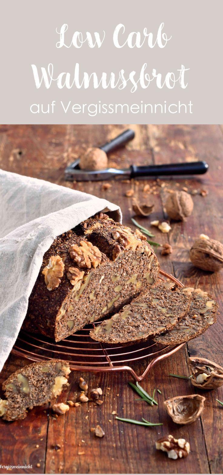 Ein einfaches Brot welches dazu noch lecker schmeckt. Das schnelle Low Carb Walnussbrot schmeckt sehr gut. Und das Rezept für das Eiweiß Brot ist sehr einfach.