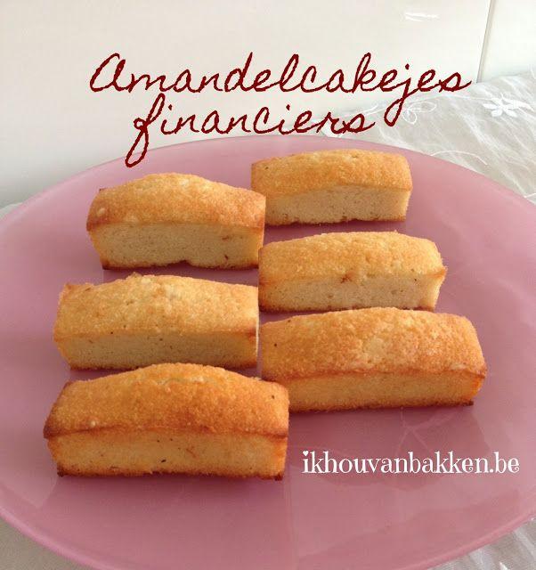 Recept amandelcakejes financiers bakken door ikhouvanbakken.be Ideaal om overschot eiwit op te maken #financiers #amandelcakejes #eiwitopmaken #amandelmeel