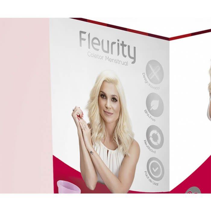 Kit Coletor Menstrual Fleurity - Flávia Alessandra - Tipo 3 - sem pigmento (Kit…