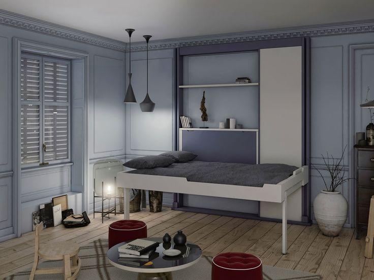 les 25 meilleures id es de la cat gorie lit escamotable. Black Bedroom Furniture Sets. Home Design Ideas