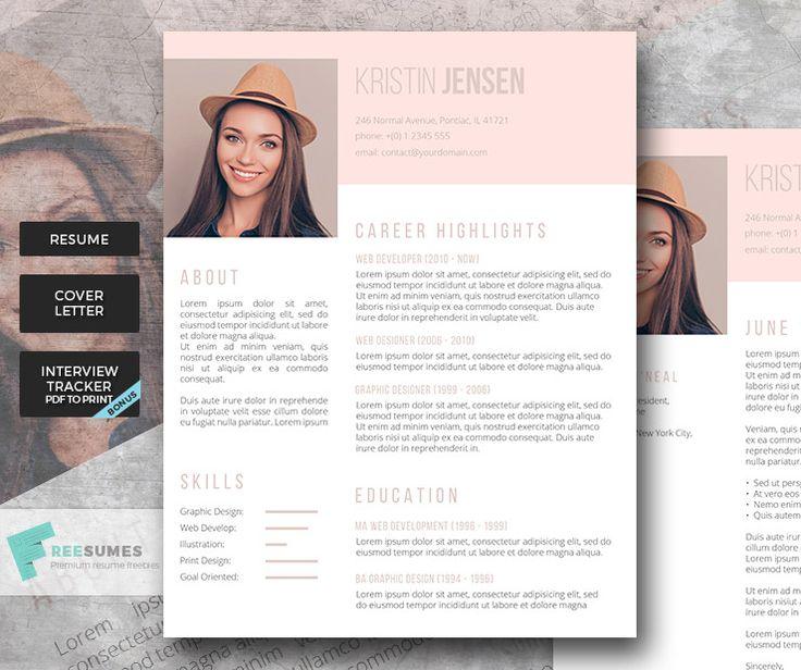 34 best Premium Resume Packages images on Pinterest Resume - resume tracker