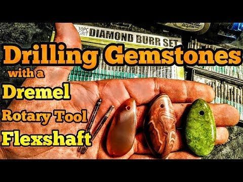 Drill a hole in precious stones with the Dremel rotary tool or flexible shaft …   – Dremel
