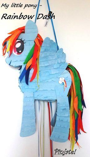 Piñata de Rainbow Dash, My Little Pony