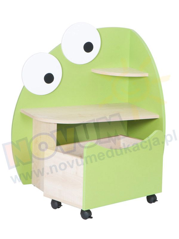 Szafka Żabka #novumedukacja #novum #kids #kidsfurniture #frog
