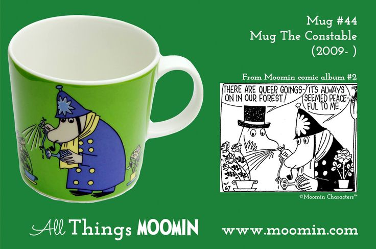 44 Moomin mug Inspector