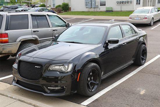 Fotos espías del : Chrysler 300 SRT HellCat Widebody   Tuningmex.com