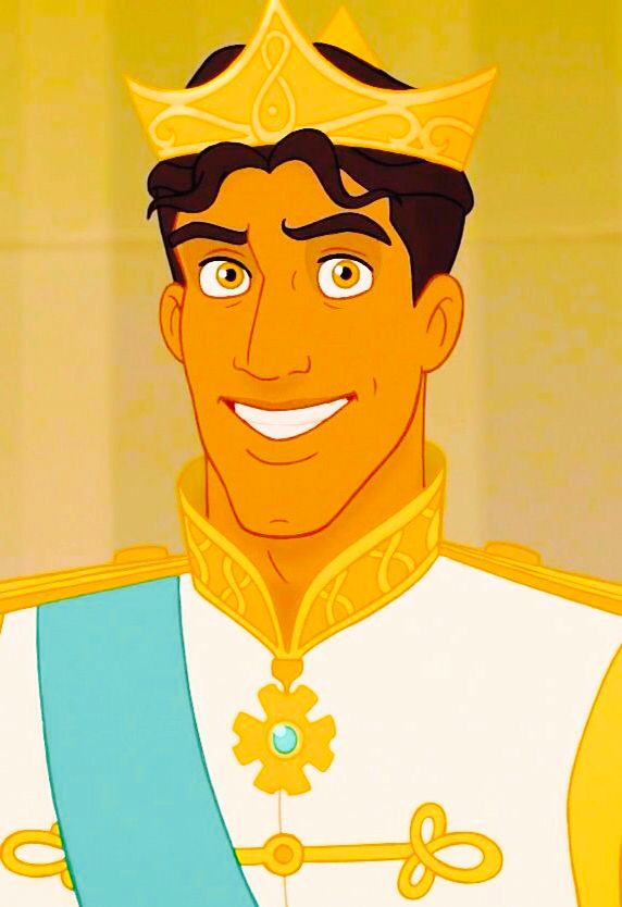 "Day 3: favourite prince: prince naveen: I love his fun personality and he is such a lady's man in ""The Princess and The Frog"""
