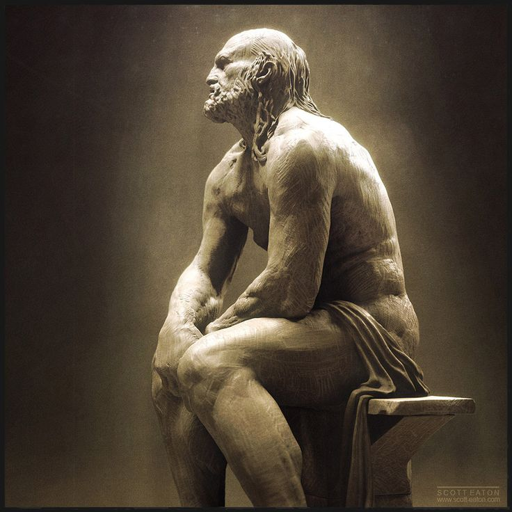 So not technically a Greek statue, but a lovely representation of Hephaestus