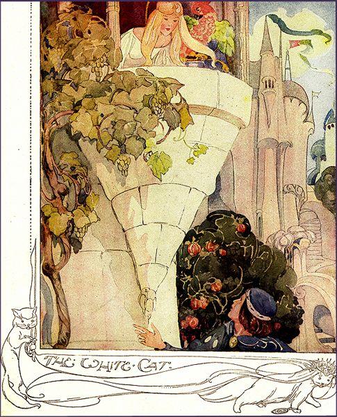 Anne Anderson was a prolific art nouveau illustrator of children's books.