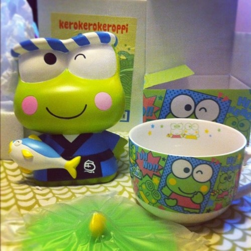 Keroppi birthday cards