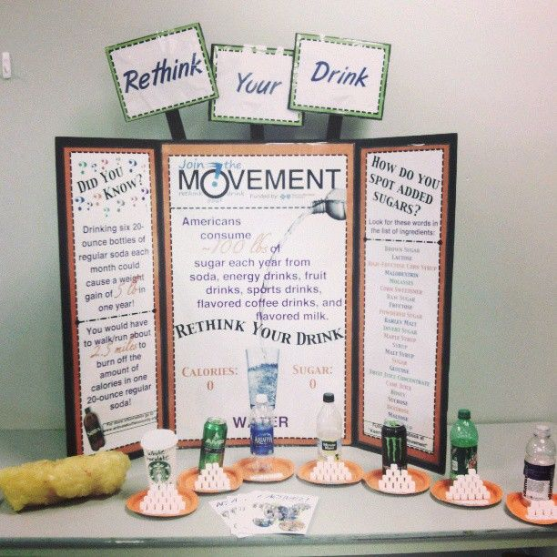 Our Rethink Your Drink Display Was Recently At The Kearney