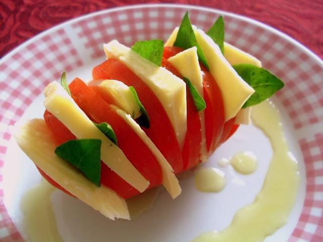 Pitadinha:  super mini salada caprese
