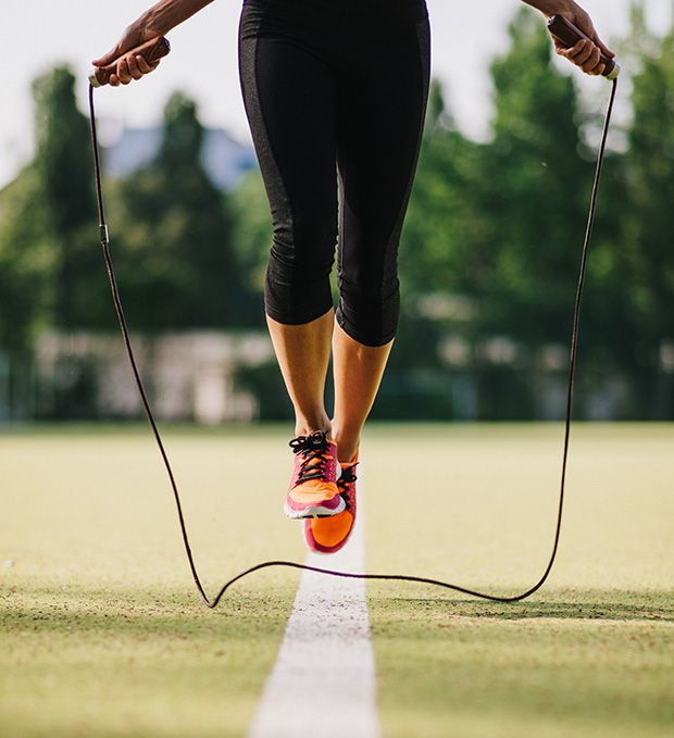 Jumping Rope and other exercises that make you burn more calories than running....