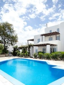 House at ornos with swimming pool - Haus
