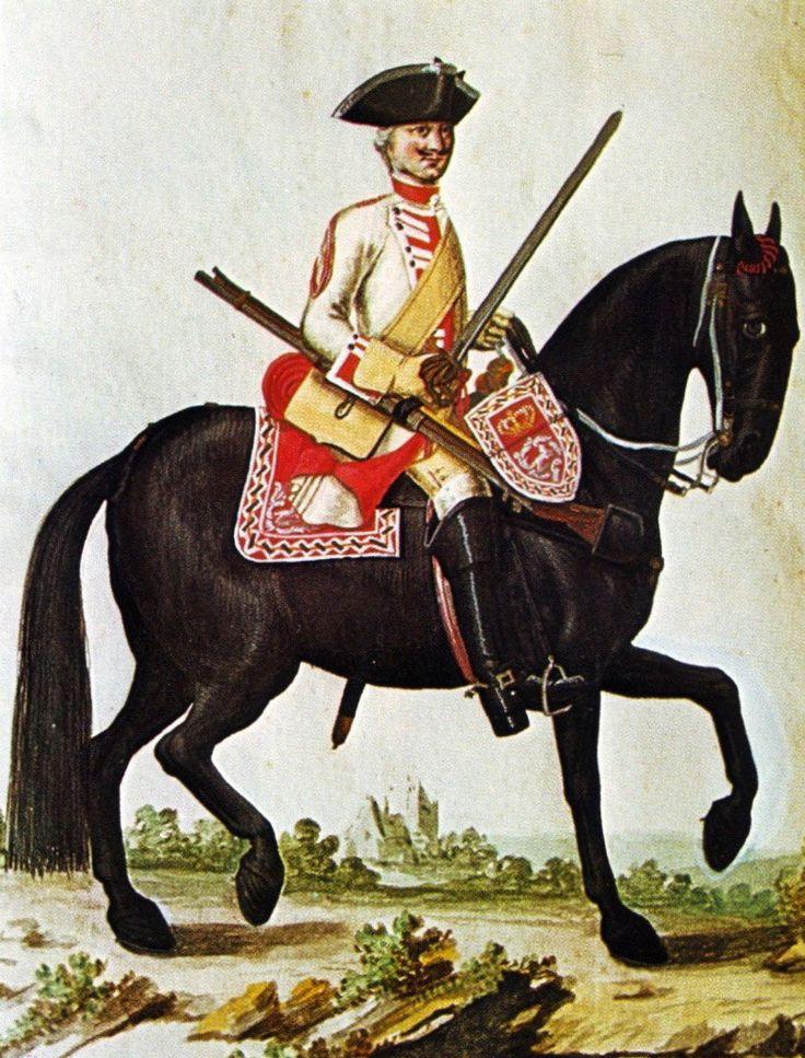 Hanover in the Seven Years War: Dragoon Regiment von Veltheim by Karsten