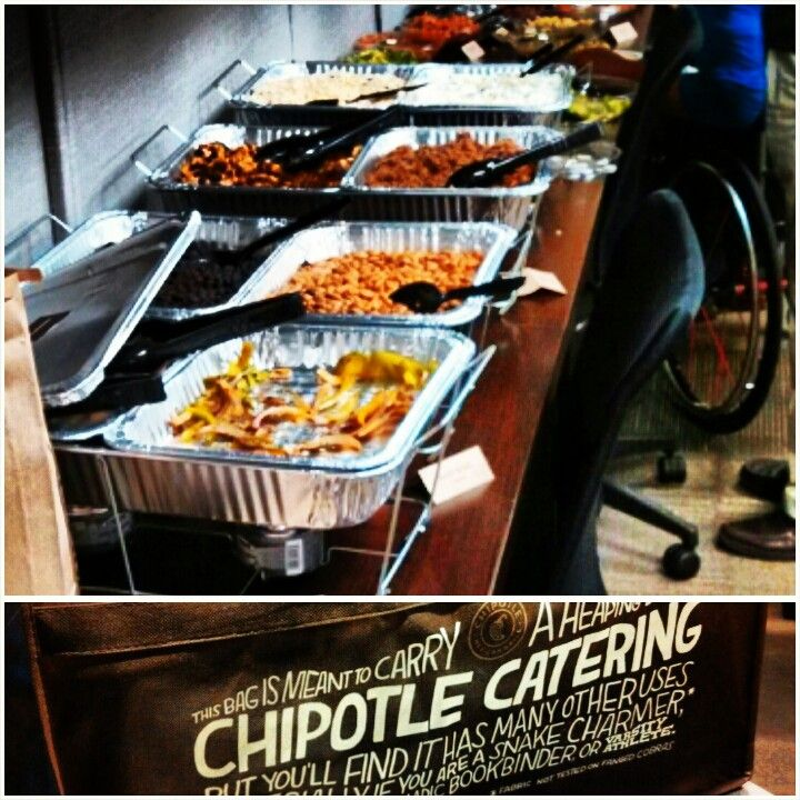 I Would Love To Have Chipotle Cater Our Wedding