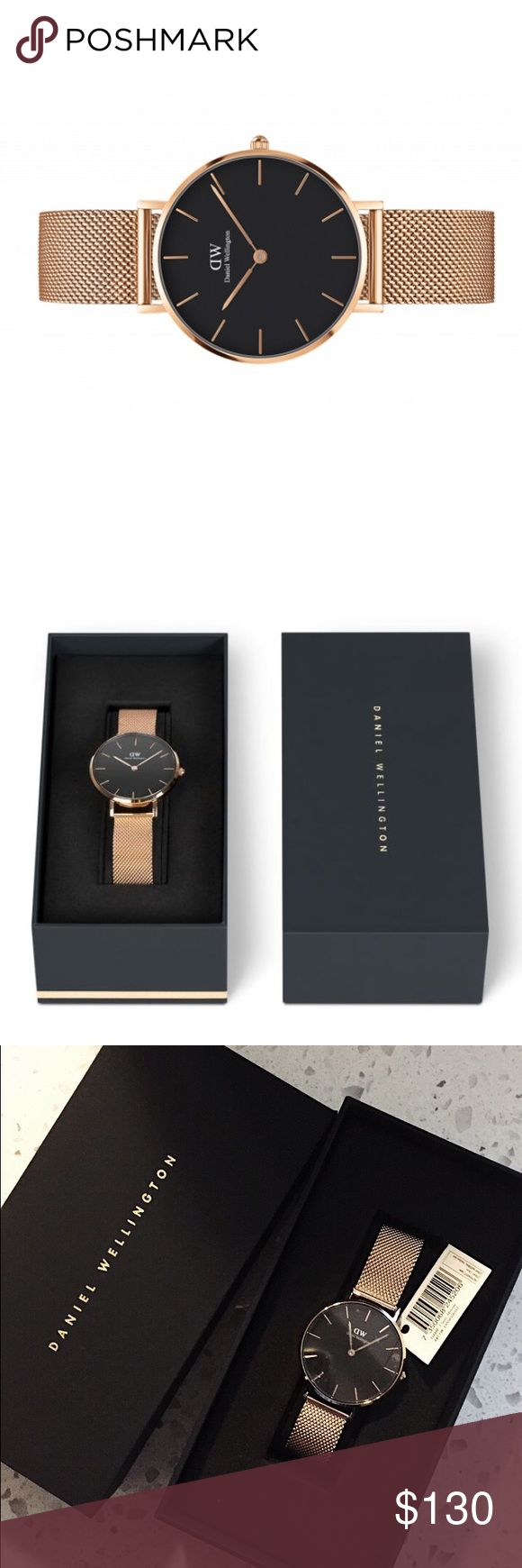 Daniel wellington classic petite watch Melrose Strap color: rose gold Size: 32mm  Brand new Original price: $179 Daniel Wellington Accessories Watches