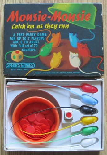 MOUSIE - MOUSIE.....SPEARS GAMES c1963... I had this, I cant remember how you play it, but I remember it!