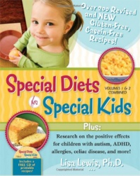 Special Diet for Special Kids.Adhd, Gluten Fre, New Recipes, Lisa Lewis, Special Kids, Casein Fre Recipe, Special Diet, Book Reviews, Celiac Disease