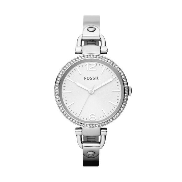 Georgia Glitz Stainless Steel Watch ES3225 | FOSSIL®