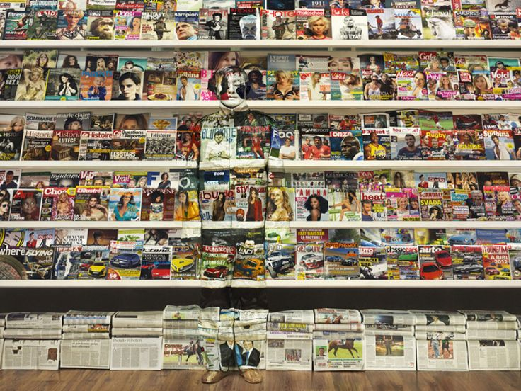 Liu Bolin… the human chameleon.