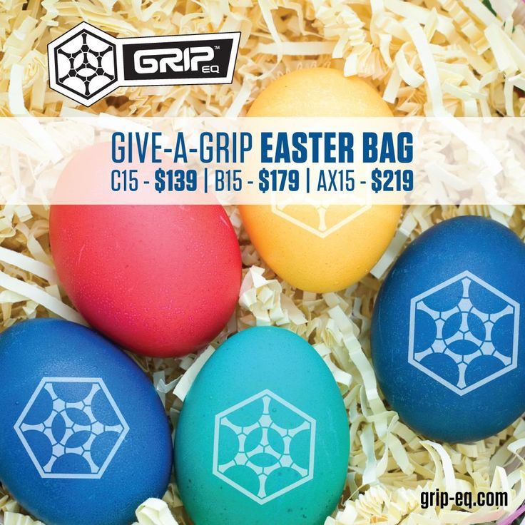 Grip EQ is helping you save this Easter with discounts on their popular disc golf bags. Save $40 on the C15, save $50 on the B15, and $60 on the AX15. Ends Sunday, March 27th. GET DEAL