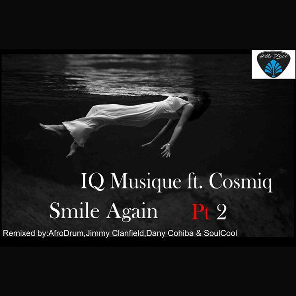 "2016 IQ Musique (feat. Cosmiq) – Smile Again Pt2 [Blu Lace Music] original version: Toni Frissell ""Weeki Wachee Springs, Florida (1947)"" #albumcover"