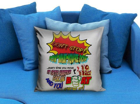 5 Seconds of Summer Don't Stop Pillow case #pillow #case #pillowcase #custompillow #custom