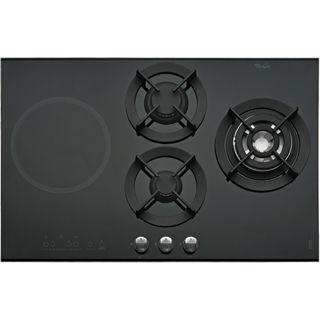 Plaque de cuisson Whirlpool : gaz 3 feux - AKT 477/IX