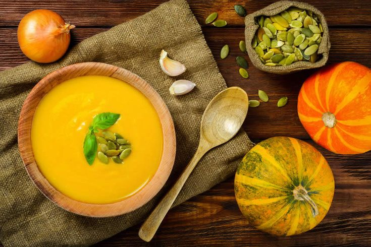 Butternut Squash Soup with Apples and Pumpkin Seeds - Everyday Diabetes