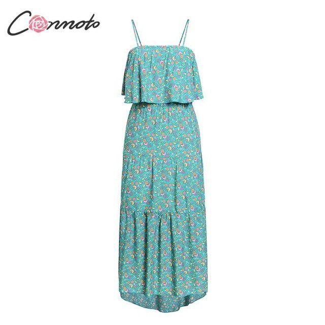 Vintage floral print long dress women summer casual holiday beach party dress plus size vestidos