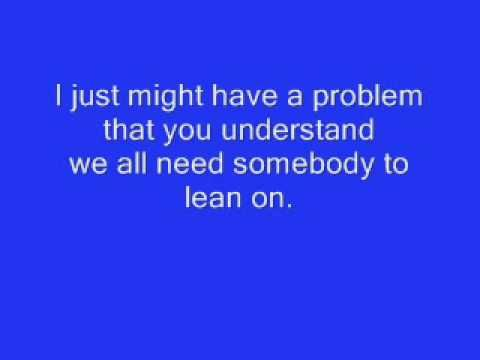 Lean On Me - Micheal Bolton [LYRICS] - YouTube
