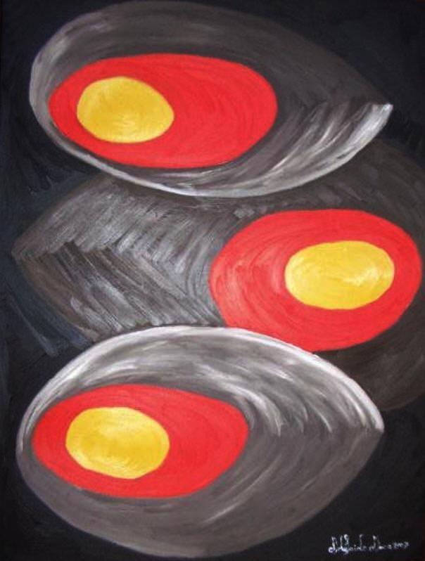 COLECÇÃO DE ABSTRACTOS   Pintado por Adelaide Moça  Óleo sobre tela   Tamanho 60*90