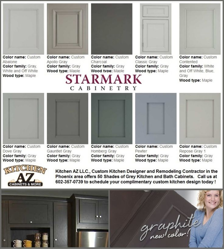 Kitchen Cabinets For Phoenix In 50 Shades Of Grey By Kitchen AZ Cabinets  Via Slideshare
