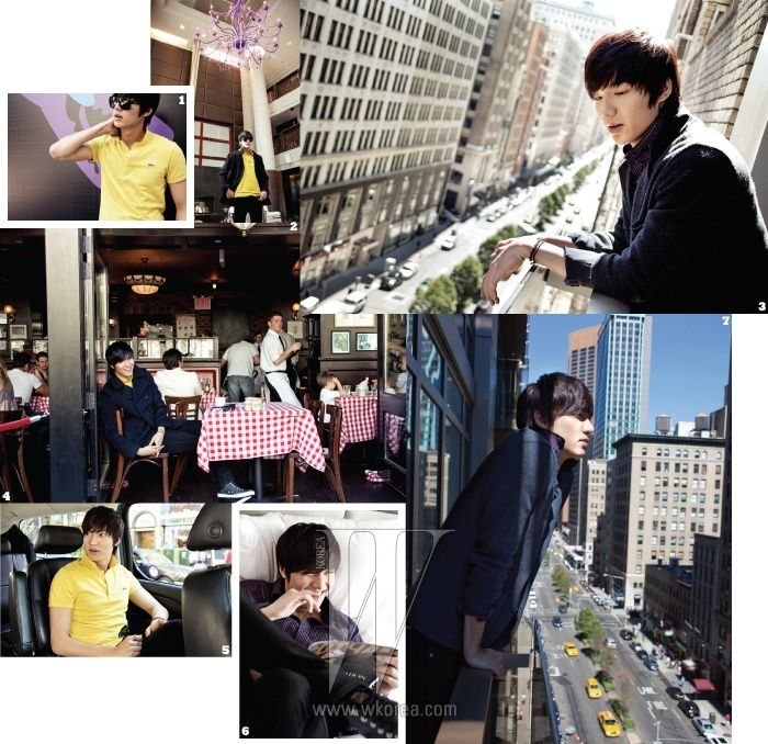 Lee Min Ho W Korea Magazine November 2010