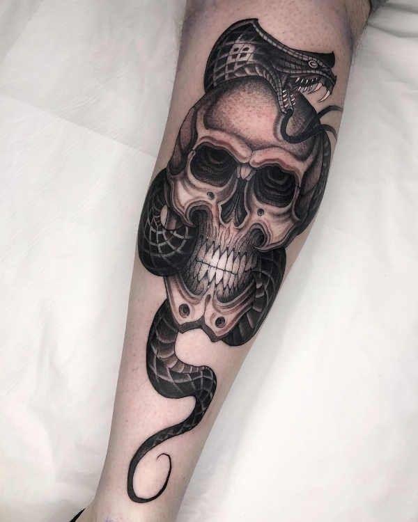 Tatuaż Wąż Znaczenie Historia 40 Zdjęć Pomysł Na