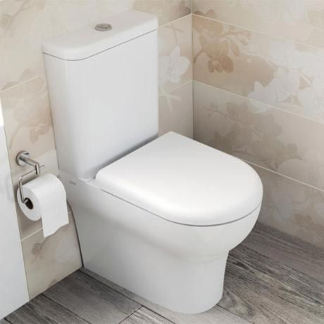 Vitra - Zentrum Close Coupled Toilet - Closed Back - 2 x Seat Options