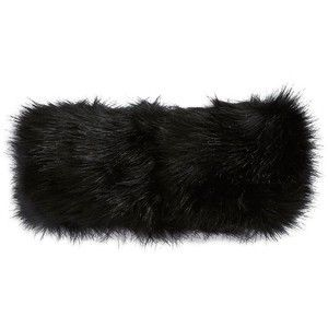 Faux Fur headband with fleece lining . What a fashion statement! Pair with your favorite coat to complete your winter look on those cold days. No need to interrupt your style. Stay fly and warm!