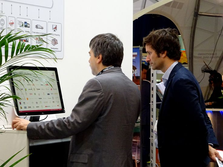 Conversations at Implico Stand