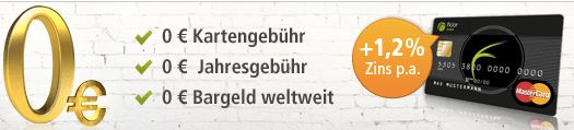 Fidor Smart Prepaid Kreditkarte - komplett kostenlose MasterCard ohne Abhebegebühren und ohne Schufa *UPDATE* - myDealZ.de