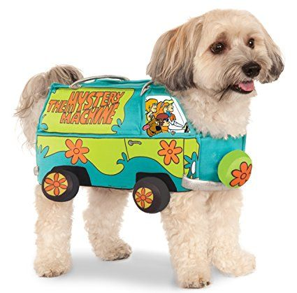 Rubies Costume Co Company 580386_L Scooby-Doo The Mystery Machine Pet Suit, Large