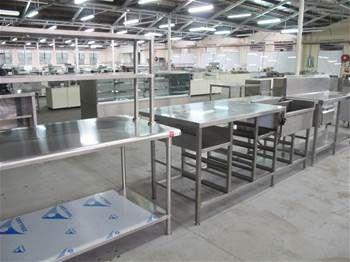 Základným výrobným programom našej firmy je nerezový nábytok napr. Pracovné stoly, príborníky, nástenné skrinky, policové zostavy ,umývacie stoly jedno alebo dvoj a viac drezové, drezy, odkladacie a umývacie stoly, výlevky. Samozrejmosťou sú atypické výrobky a rôzne kombinácie nábytku. Nerezové pracovné stoly vieme kombinovať z orbilanovými (plastovými) doskami. Pracovné dosky na prianie zákazníka vieme vyhotovíť aj v rádiusovom prevedení. Nábytok je možné použiť v gastronomických…