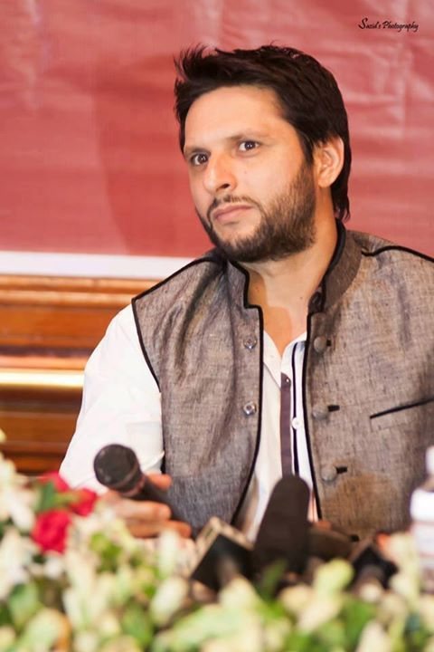 Shahid Afridi !! The King Of Hearts ..