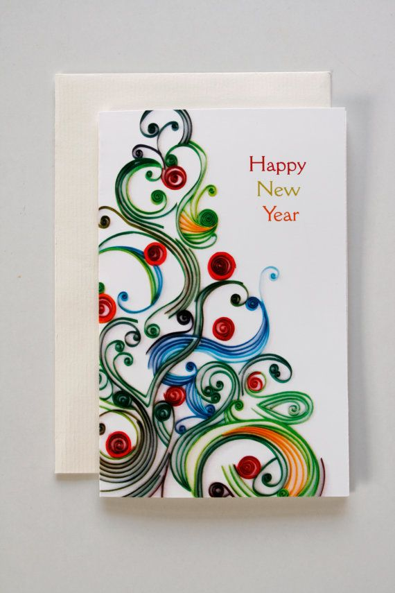 #Happy new year card