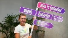 """Simona Halep a făcut un tur de prezentare la Singapore: """"Fiecare.."""