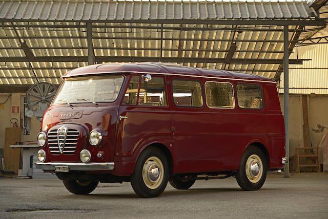 Alfa Romeo 2 - the world's most tasteful Van