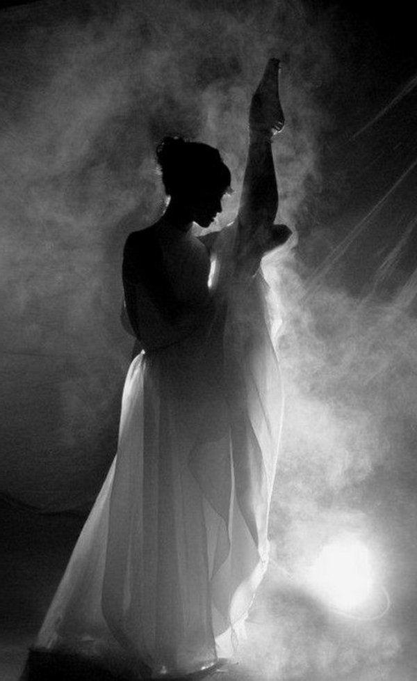 La danse de ballet est très intense