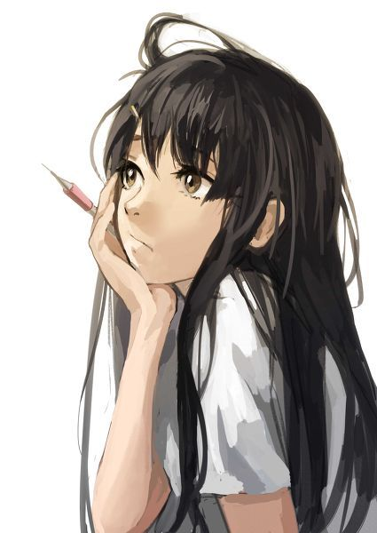 """""""Hmmmm...please guys give me a drawing request I'm sooo bored please just anime !!!! :0) ^_^:"""