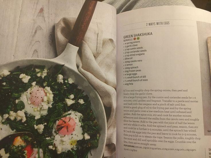 Green shakshuka - Jamie Oliver